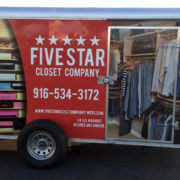 Five Star Closet Vehicle Wrap